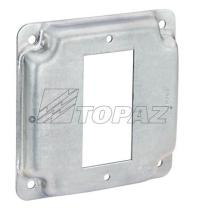 """4"""" Square Industrial Covers GFI 5/8"""""""