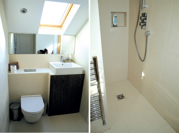 Loft wet room interior design ideas