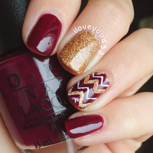 15 Burgundy Nail Designs To Try This Fall