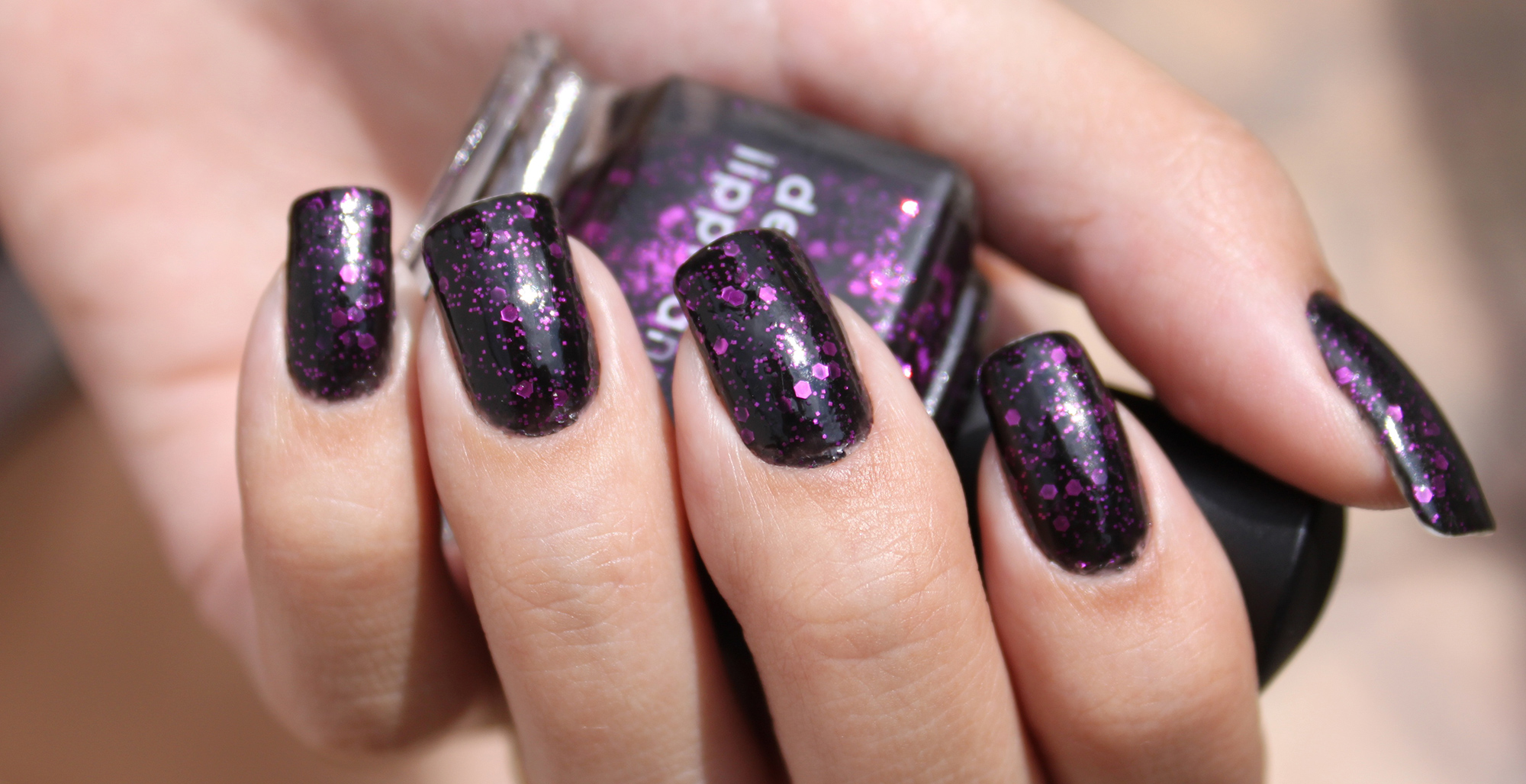 17 Beautiful Dark Purple Nail Designs