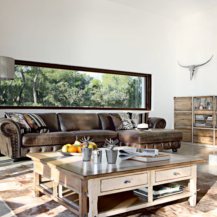 Living Rooms With Brown Leather Sofa - brown leather couch living room