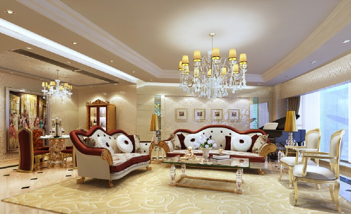Modern and Elegant French Living Room Designs - french style living room