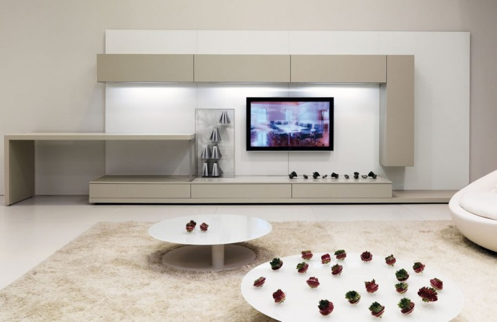 TV Wall Units For Your Living Room - living room tv