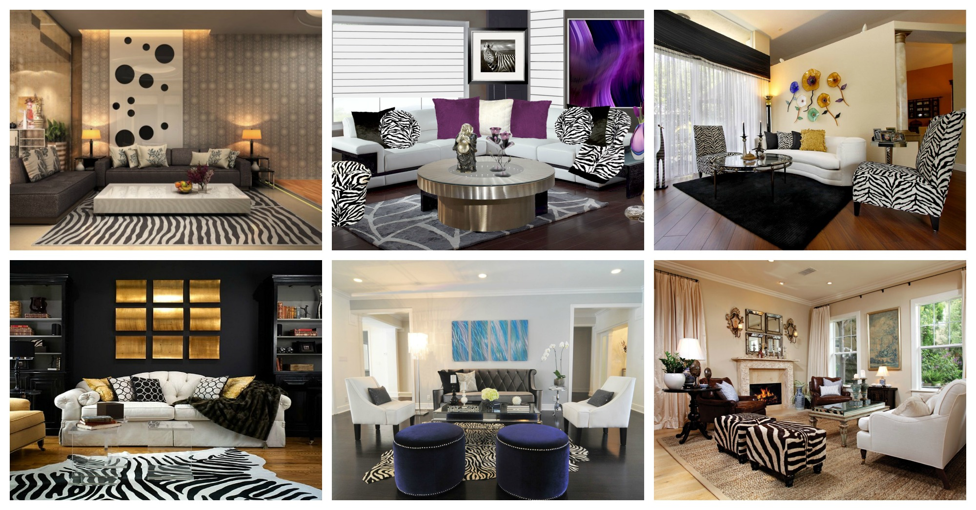 Zebra Living Room Ideas 25 Download