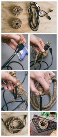 Creative DIY Cord Covers That You Can Whip Up In No Time