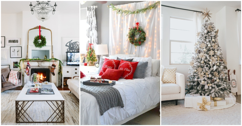 Christmas Decor Tips From The Most Beautiful Blogger Homes