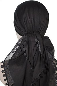 Ultra Soft Cotton Square Head Scarves for Hair Loss