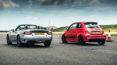 This is the new Abarth 595 hot hatchback   Top Gear