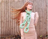 Top 10 Fun And Unusual DIY Scarfs ( Free Patterns )