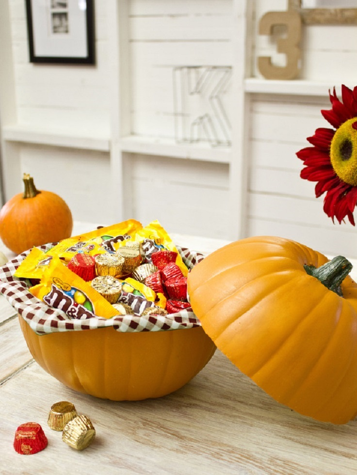 Top 10 Diy Easy Home Decorations Made Of Pumpkins Top