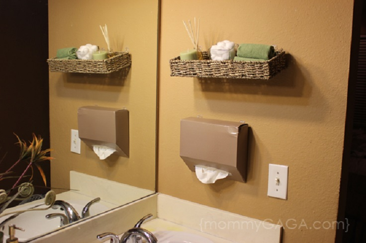 Top 10 Lovely DIY Bathroom Decor and Storage Ideas - Top Inspired - decorative towels for bathroom ideas