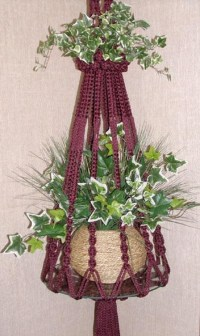 Top 10 Fancy Ideas for Macrame Hanging Planter - Top Inspired