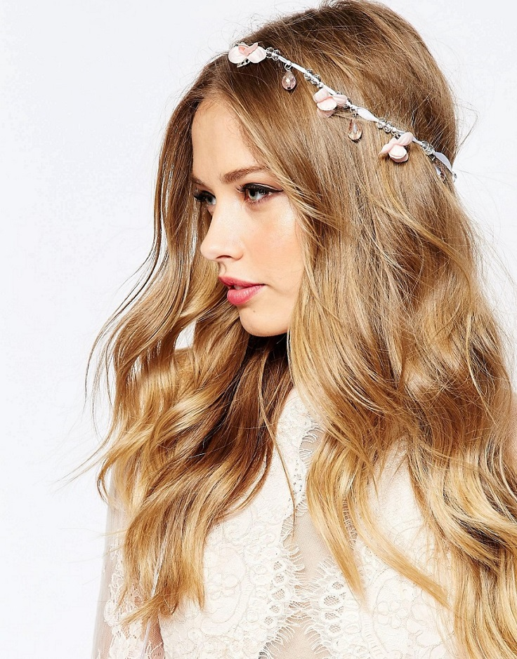 flower-bead-hair-tie