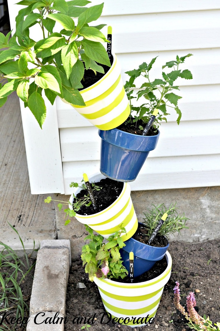 10 Amazing DIY Garden Decorations To Welcome Spring - crazyforus