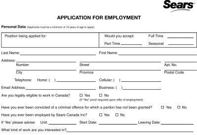 Printable job applications printable job application forms online