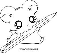 ** IMMAGINI DA COLORARE DI HAMTARO - ** Topmanga anime e manga