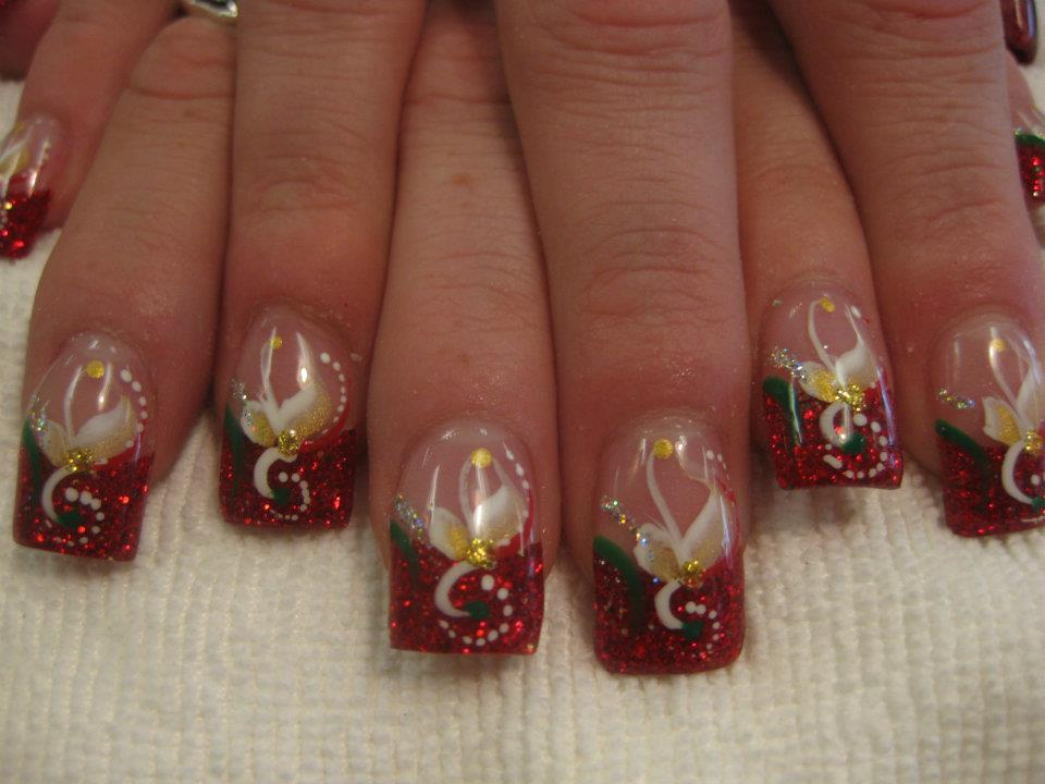 The Spirit Of Christmas Nail Art Designs By Top Nails