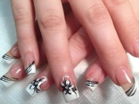 Romantic Evening, nail art designs by Top Nails ...