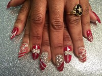 Sparkling Christmas Presents, nail art designs by Top ...