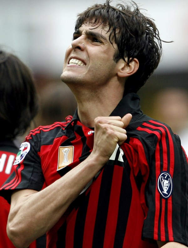 kaka back to milan