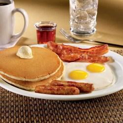 Impressive Restaurant Clifton Hill District Niagara Falls Canada Slam Breakfast At Denny S Slam Breakfast Waffle House