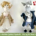 Hr & Fru Hest - af Little Owls Hut