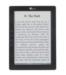 Icarus E1051BK - eXceL 9.7 e-reader (Android 4.0) with touchscreen, handwriting and wifi