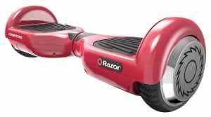 Razor Hovertrax Electric Self-Balancing Scooter, Red