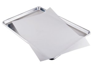 1 X Parchment Paper for Baking Pan Liners 110 Sheets Silicone Treated 12 x 16