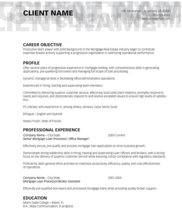loan processor resume templates loan processor resume 84 loan