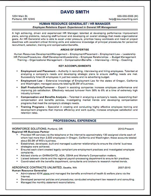 Top Resume Services Resume Writers  Review - compensation consultant sample resume