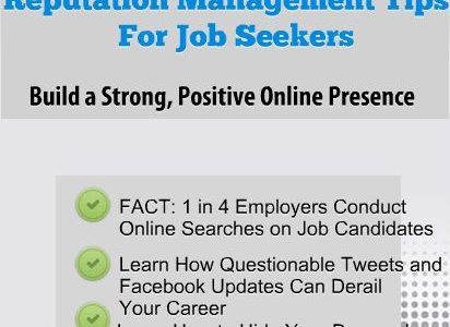 Top Resume Writing  Career Services Reputation Management Tips for