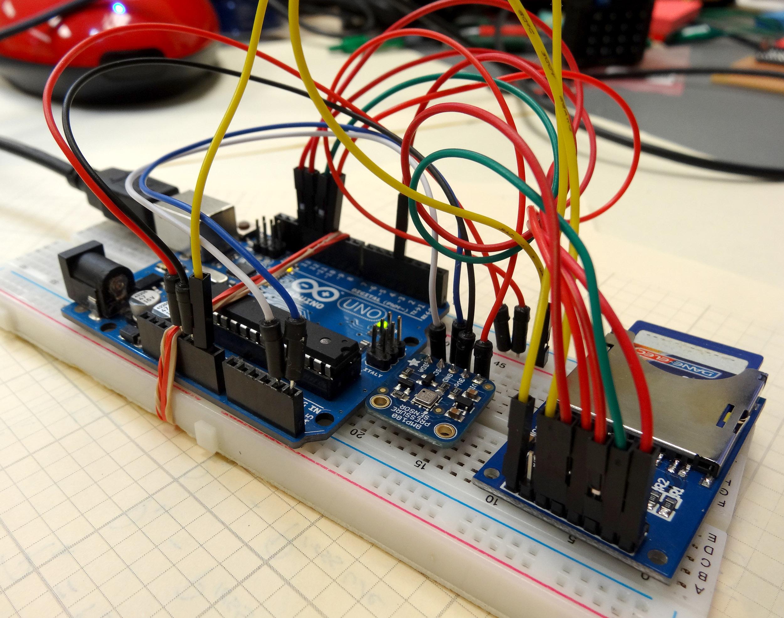 Arduino Lesson 21 Log Sensor Data To An Sd Card