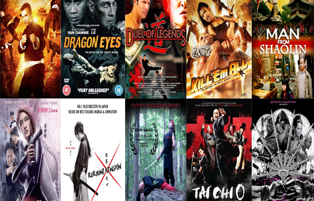 top 10 martial arts movies 2012