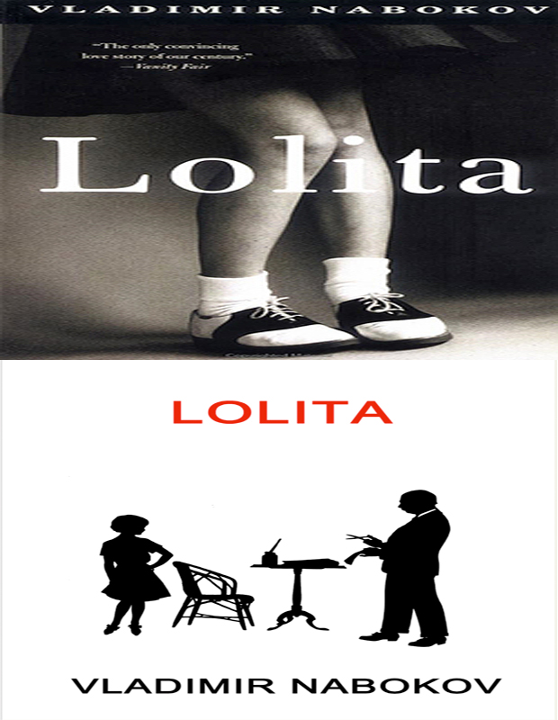 LOLITA book cover photo