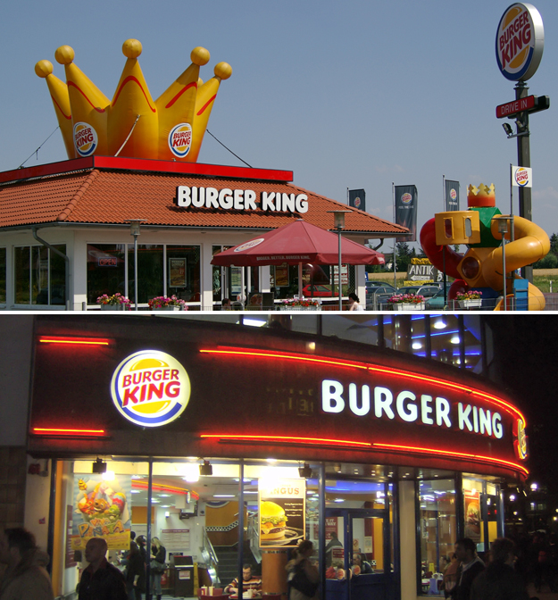 fast food chains in the world