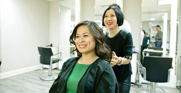 top hair salons in Toronto