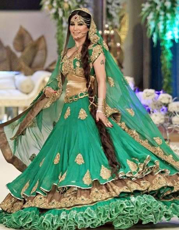 For Girls and Bridals Top Ten New Sharara Designs 2015