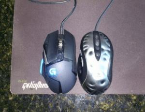 G502 Size vs MX518