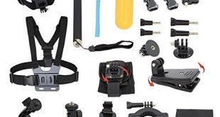 2. DLPIN 22-in-1 Sport Accessory Kit For GoPro Hero Series