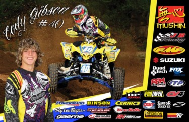 Cody Gibson Autograph Poster