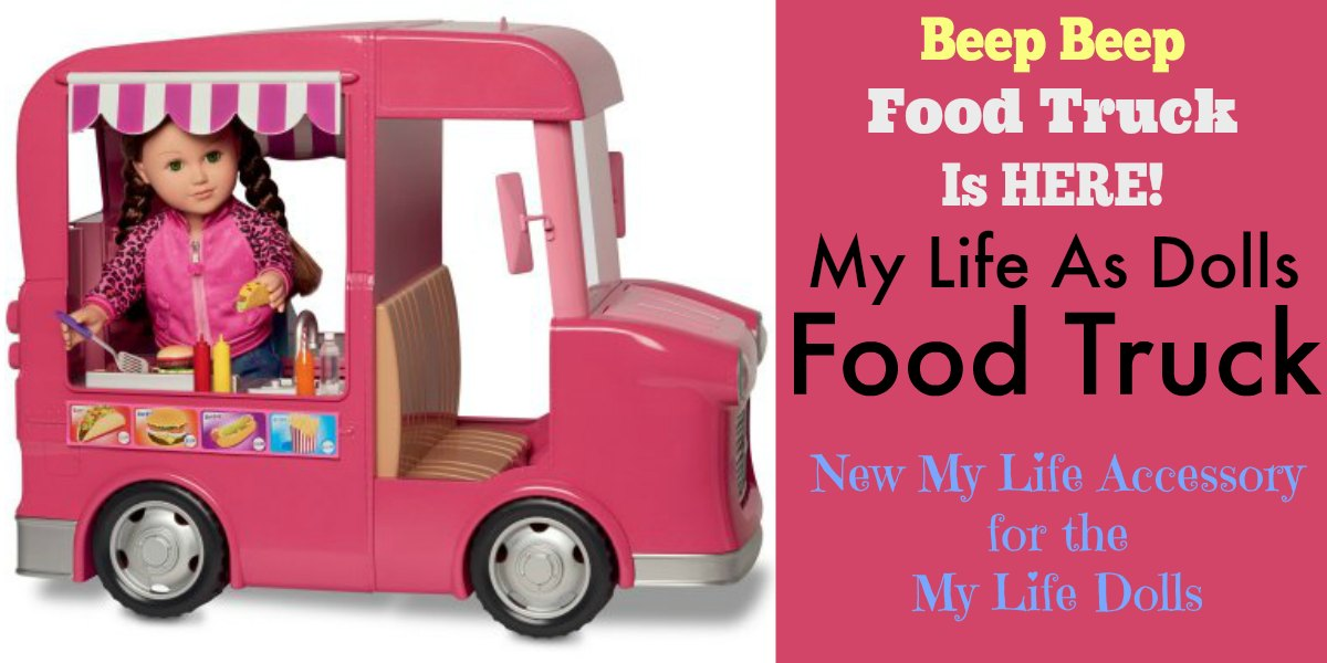 My Life As Dolls Food Truck My Life Dolls New Addition