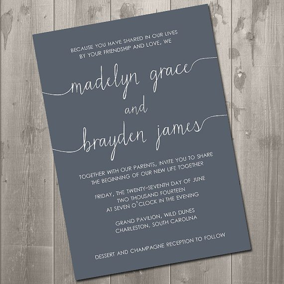 Wedding Invitations Etiquette  The 4-Step Wedding Invitation