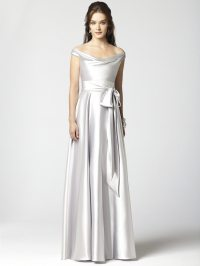 Colorful Wedding & Bridesmaid Gowns: Silver Inspiration ...