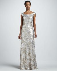 Team Wedding Blog Colorful Wedding Gowns: Silver Inspiration