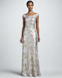 Team Wedding Blog Colorful Wedding Gowns: Silver Inspiration