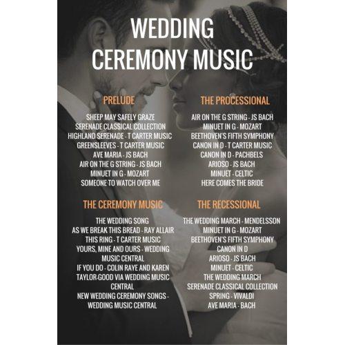 Medium Crop Of Bridal Party Entrance Songs