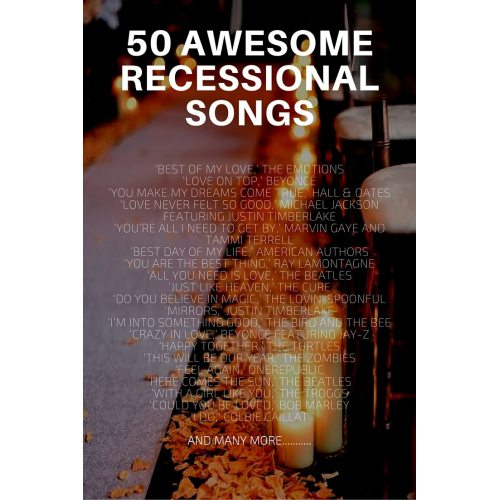Medium Crop Of Wedding Recessional Songs