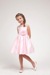 Pink, Puffy Flower Girl Dresses For Your Little Pal ...