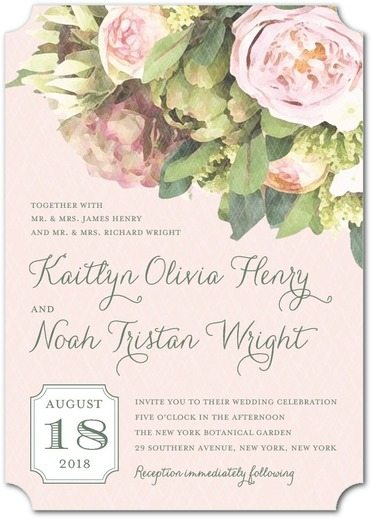 10 Of Our Favorite Vintage-Styled Wedding Invitations Around